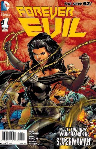 Forever Evil #1 Ivan Reis Superwoman Variant