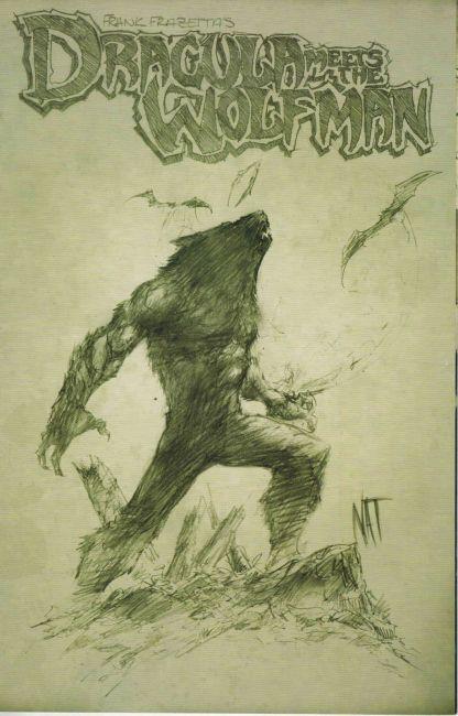 Frank Frazetta's Dracula Meets the Wolfman #0 C Nat Jones Variant