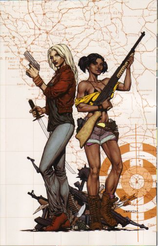 Freelancers #1 Cover E Ibraim Roberson Virgin Art Color Variant SOLD OUT!
