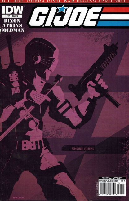 G.I. Joe #27 Tom Whalen Variant