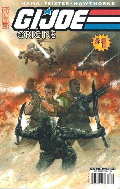 G.I. Joe: Origins #1 Dave Dorman Variant