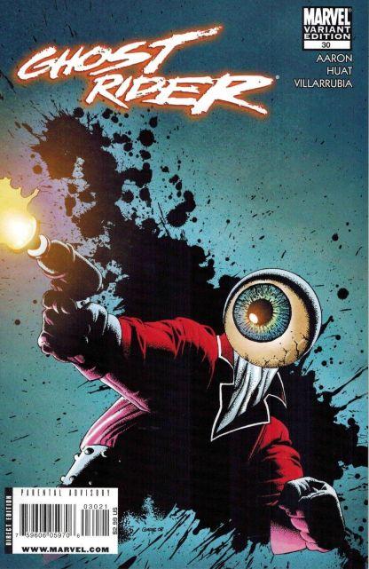 Ghost Rider #30 Richard Corben Villain Variant