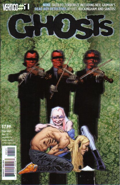 Ghosts #1 1:10 Phil Jiminez Variant DC Vertigo 2012 Geoff Johns Al Ewing Kubert