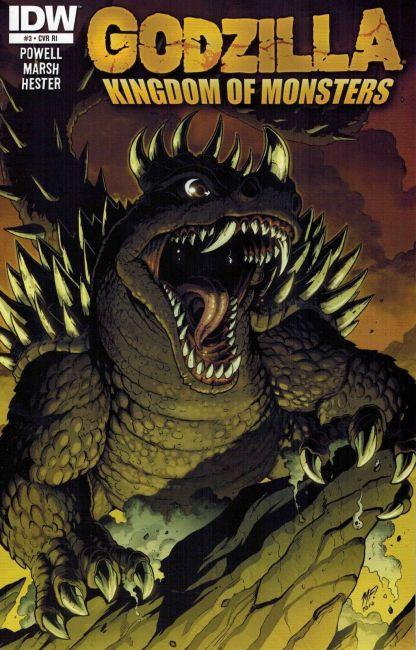 Godzilla: Kingdom of Monsters #3 Matt Frank Retailer Incentive Variant