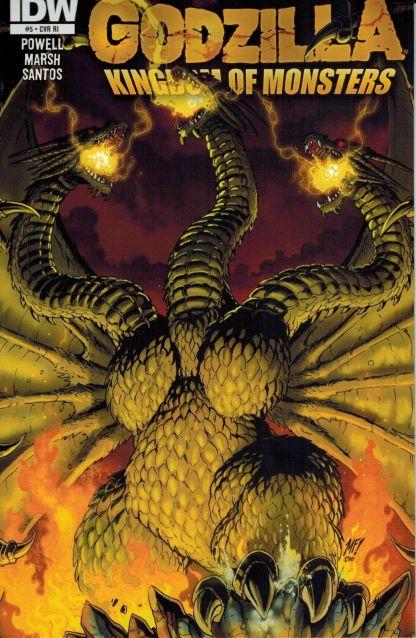 Godzilla: Kingdom of Monsters #5 Matt Frank Retailer Incentive Variant