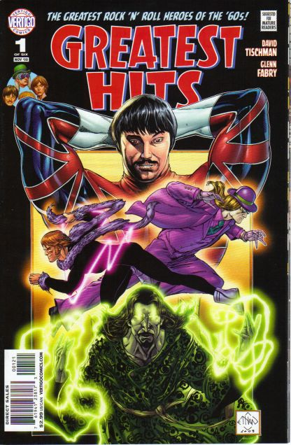 Greatest Hits #1 Ethan Van Sciver Variant