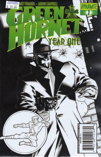 Green Hornet: Year One #1 Matt Wagner Sketch Variant