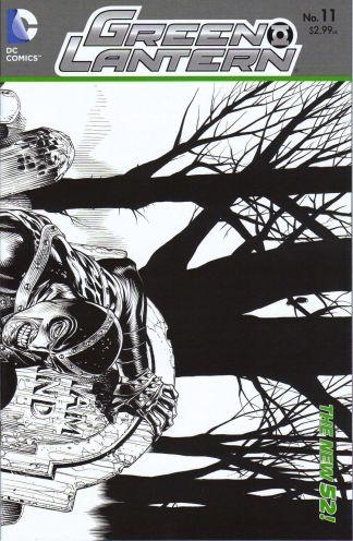 Green Lantern #11 1:25 Sketch Variant New 52