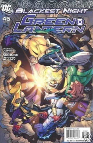 Green Lantern #46 1:10 Variant Blackest Night
