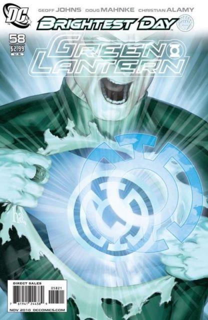 Green Lantern #58 1:10 Gene Ha Brightest Day Variant DC 2005