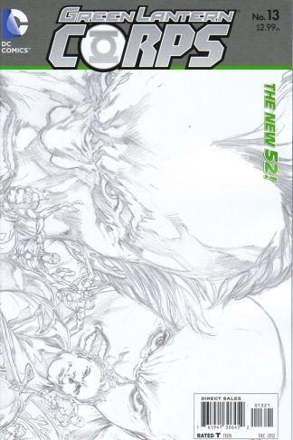 Green Lantern Corps #13 1:25 Sketch Variant