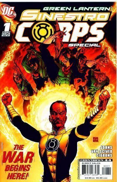 Green Lantern: Sinestro Corps Special Variant