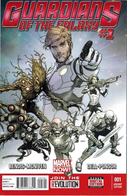 Guardians of the Galaxy #1 Personalized Retailer Variant One of a Kind