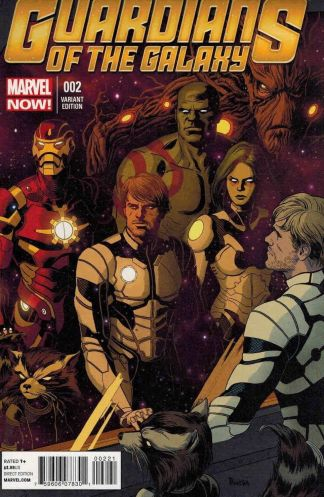 Guardians of the Galaxy #2 1:50 Paolo Rivera Variant Marvel NOW 2013