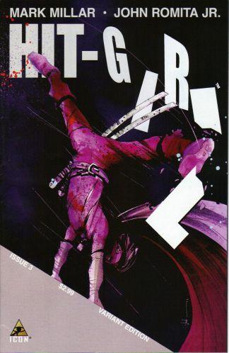 Hit-Girl #3 1:25 Jock Variant Kick-Ass Mark Millar John Romita Jr
