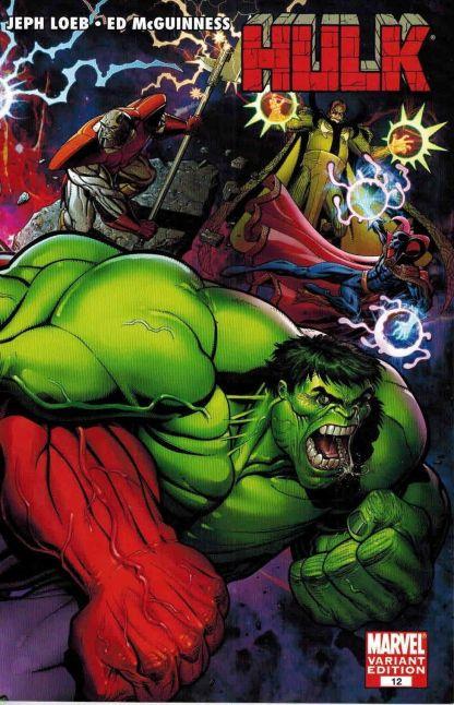 Hulk #12 Arthur Adams Interlocking Variant