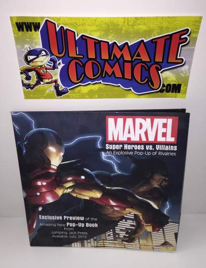 Marvel Super Heroes vs Super Villains Pop Up Book Preview Alex Ross