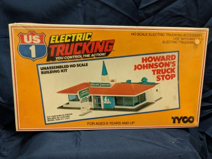 Tyco HO Howard Johnson's Building Kit #7754B Vintage Sealed