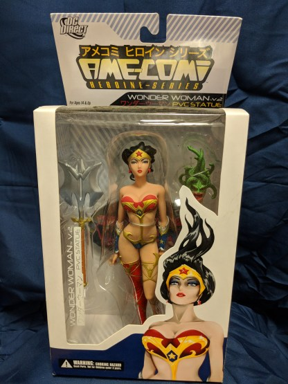 "Ame-Comi Wonder Woman V.2 Heroine Series PVC Statue 9"" Figure"