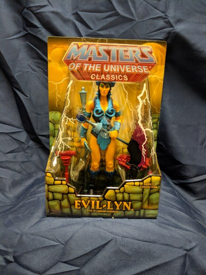 He-Man Masters of the Universe Classics Evil-Lyn w/ Labeled Box
