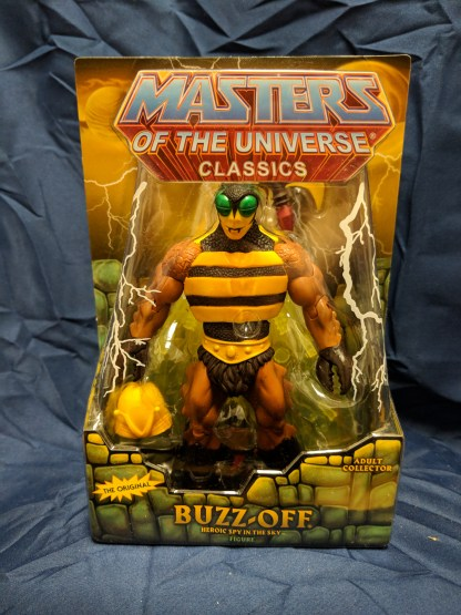 He-Man Masters of the Universe Classics Buzz-Off w/ Labeled Box