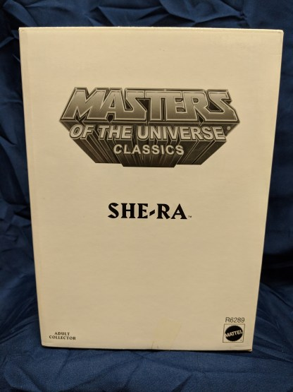He-Man Masters of the Universe Classics Princess of Power She-Ra w/ Labeled Box