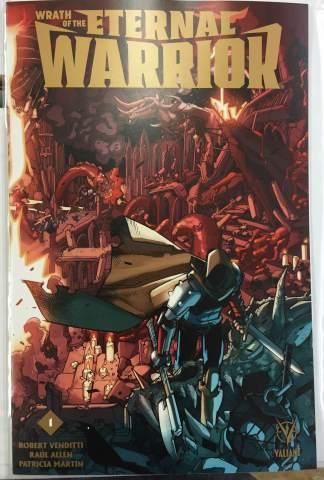 Wrath of the Eternal Warrior #1 LaFuente Wraparound Gold Variant Valiant 2015