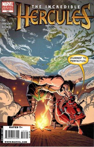 Incredible Hercules #141 Michael Avon Oeming Deadpool Variant