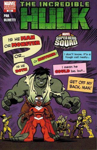 Incredible Hulk #602 Super Hero Squad Variant