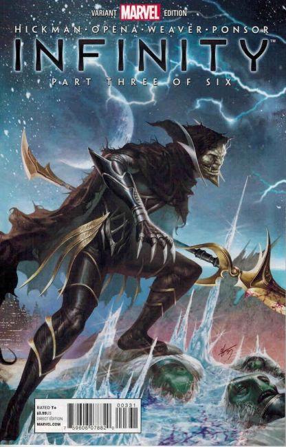 Infinity #3 In-Hyuk Lee Generals Corvus Glaive Variant