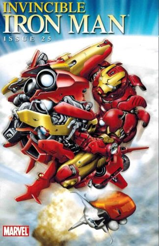 Invincible Iron Man #25 Iron Man By Design Variant