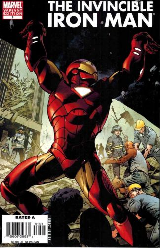 Invincible Iron Man #7 Bryan Hitch Color Variant