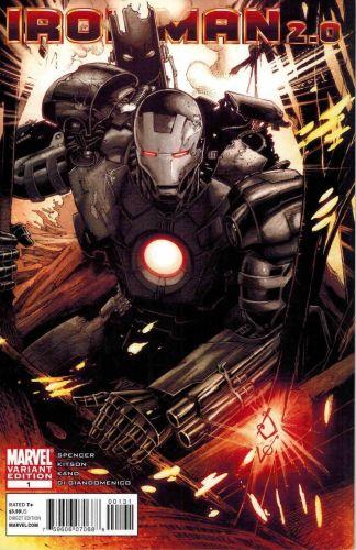 Iron Man 2.0 #1 Dheeraj Verma Variant