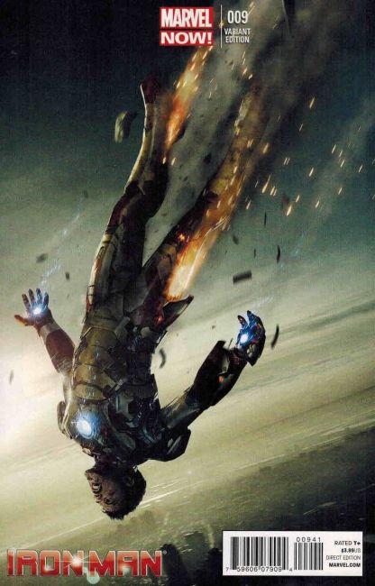 Iron Man #9 Movie Poster Variant