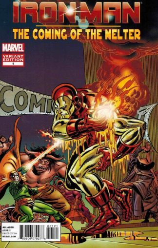 Iron Man: The Coming of the Melter #1 Gil Kane Variant
