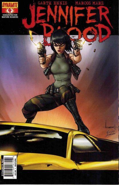 Jennifer Blood #4 Ale Garza Variant