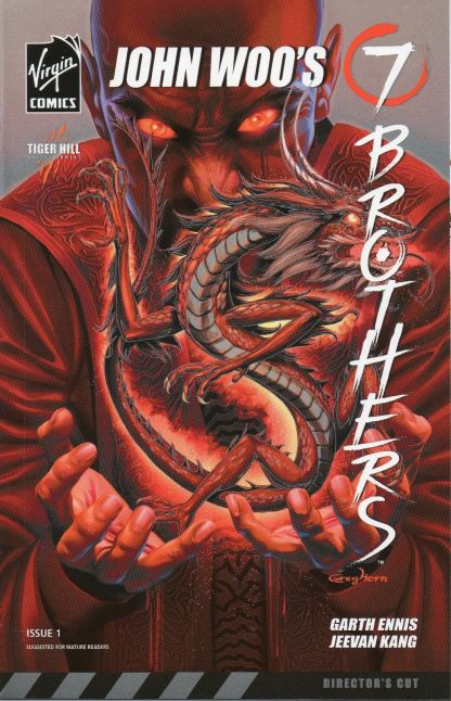 John Woo's 7 Brothers #1 Director's Cut Silver Variant