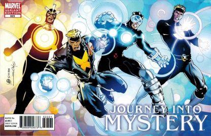 Journey into Mystery #623 Stroman X-Men Evolutions Havok Variant