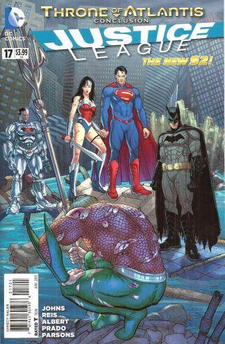 Justice League #17 New 52 Steve Skroce Variant Cover
