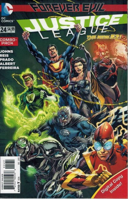 Justice League #24 Digital Combo Pack Variant