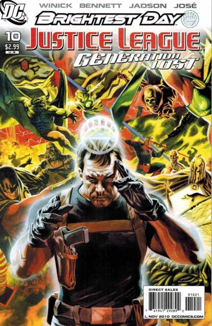 Justice League: Generation Lost #10 Felipe Massafera Variant