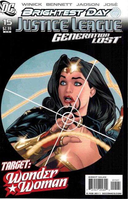 Justice League: Generation Lost #15 Kevin Maguire Variant