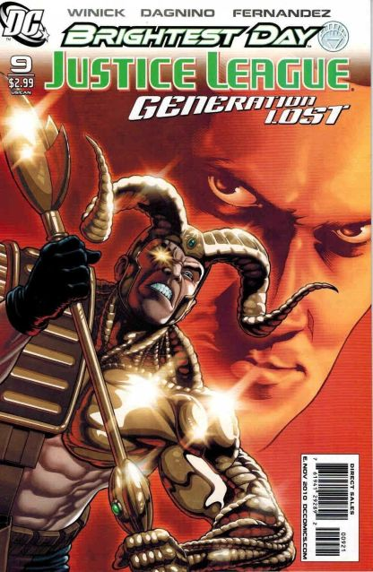 Justice League: Generation Lost #9 Kevin Maguire Variant