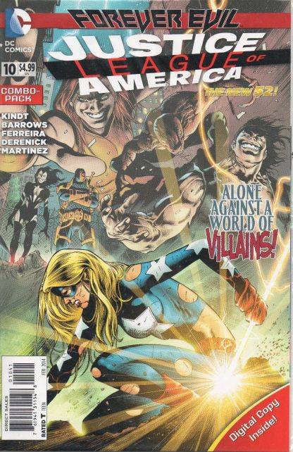 Justice League of America #10 Digital Combo-Pack