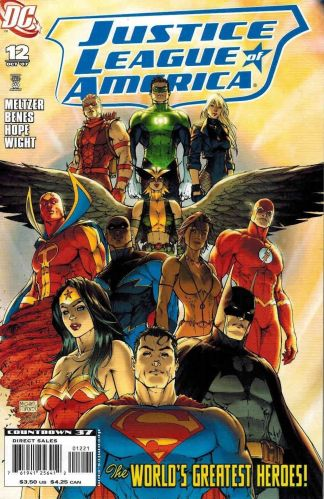 Justice League of America #12 Michael Turner Variant DC 2006
