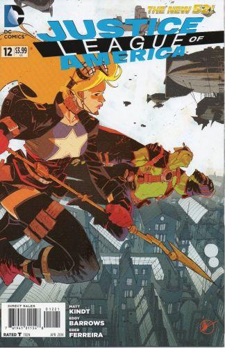 Justice League of America #28 Matteo Scalera Steampunk Variant
