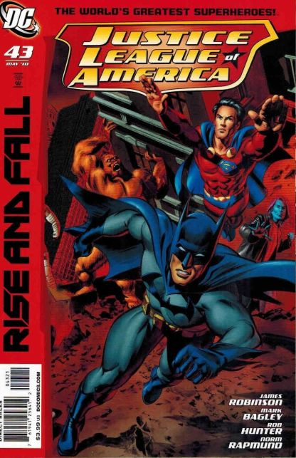 Justice League of America #43 Mike Mayhew Rise and Fall Variant