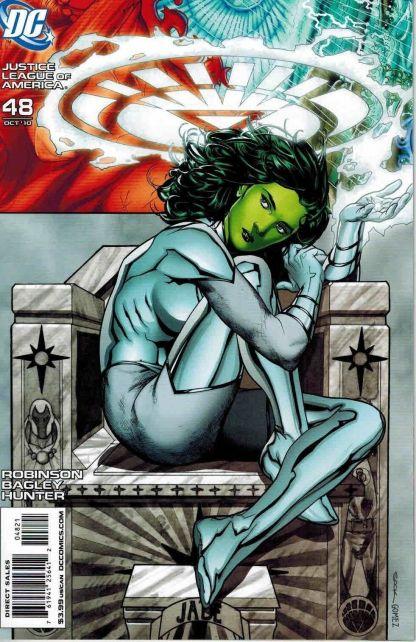 Justice League of America #48 Ryan Sook Jade White Lantern Variant