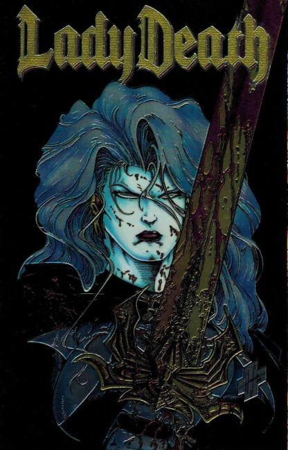 Lady Death #1 Steven Hughes Foil Variant