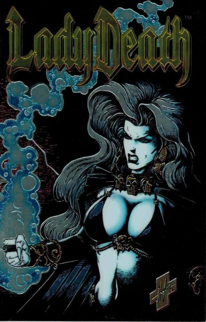 Lady Death II: Between Heaven and Hell #1 Steven Hughes Foil Variant